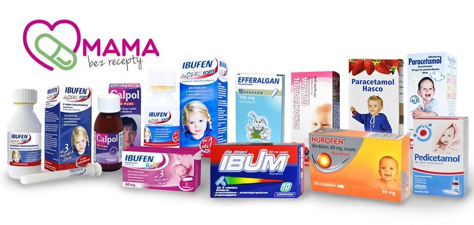 Leki przeciwgorączkowe dla dzieci - ibuprofen i paracetamol, co stosować?